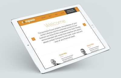 Compass Personal Finance (Southampton), Website Design