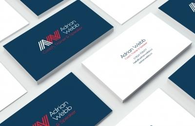 Portfolio business cards evolve adrian webb business cards colourmoves