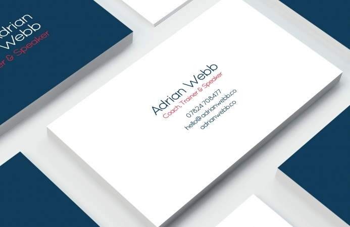 Adrian Webb (Southampton) - Business Cards (Front)