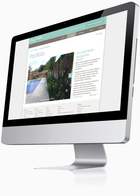 ... Amy Perkins Garden Design (Andover)   Website Design (Project Detail)  ...