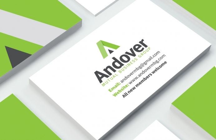 Andover Mutual Business Group - Business Cards (Front)