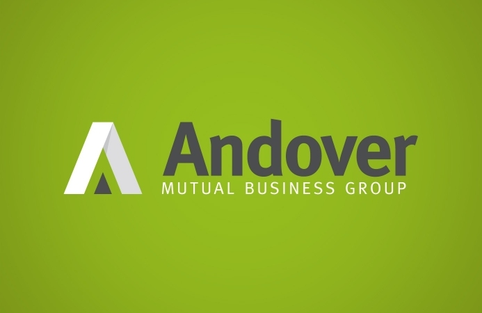 Andover Mutual Business Group - Logo Design (Negative Version)