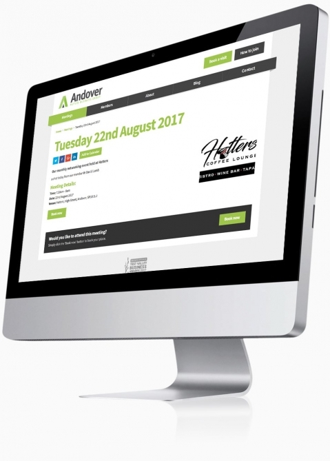 Andover Mutual Business Group - Website Design (Meeting Detail)