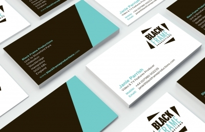 Black Frame Productions (Andover), Business Cards