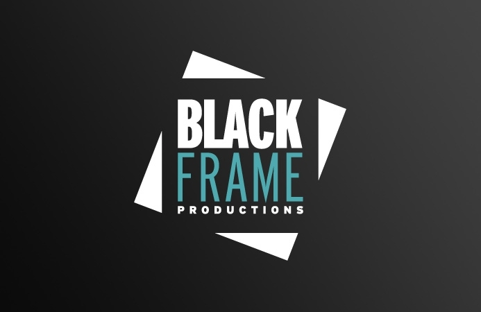 Black Frame Productions - Logo Design (Black Version)