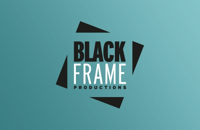 Black Frame Productions - Logo Design (Green Version)