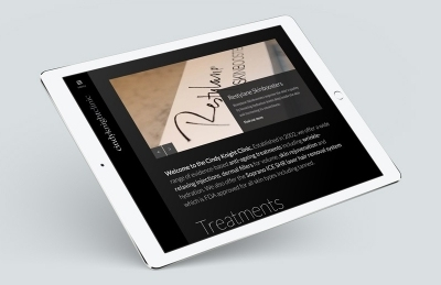 Cindy Knight Clinic (Tonbridge), Website Design