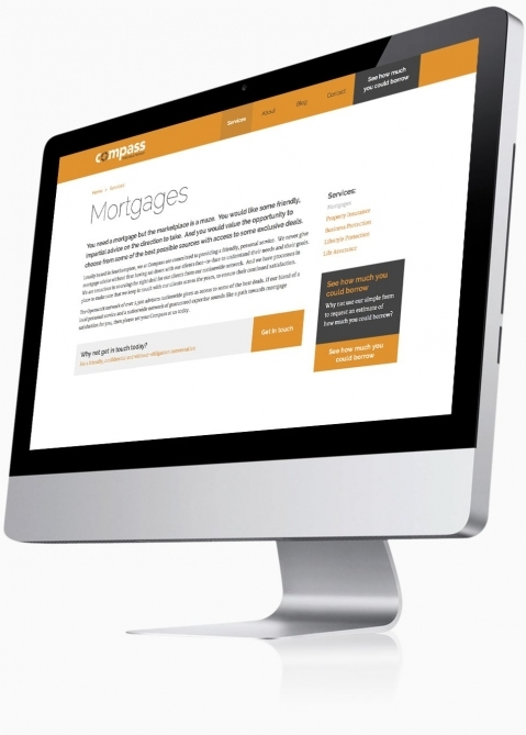 Compass Personal Finance (Southampton) - Website Design (Service Detail)