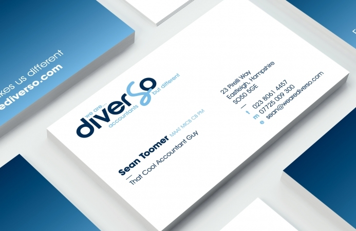 Diverso Accountants (Southampton) - Business Cards (Front)