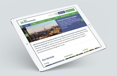 GEP Environmental (Winchester), Website Design