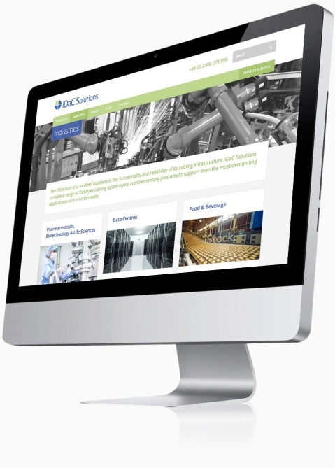 IDAC Solutions (Chandlers Ford, Southampton) - Website Design (Industries)