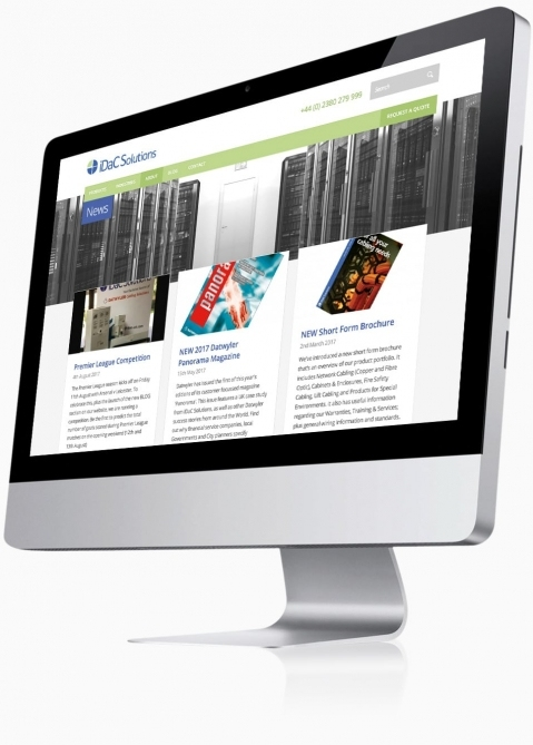 IDAC Solutions (Chandlers Ford, Southampton) - Website Design (Latest News)