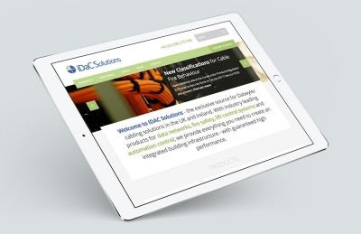 iDaC Solutions (Southampton), Website Design