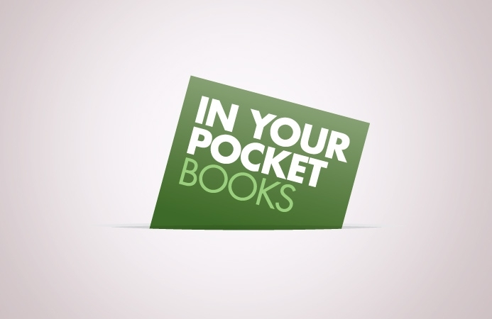 In Your Pocket Books - Logo Design (Positive Version)