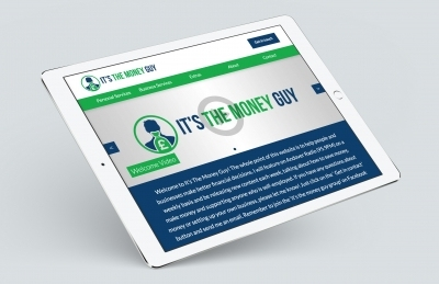It's the Money Guy (Andover), Website Design