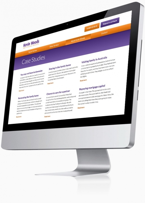 Kevin Woods (Southampton) - Website Design (Case Studies)