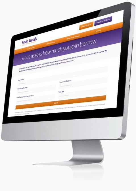 Kevin Woods (Southampton) - Website Design (Borrow Calculator)