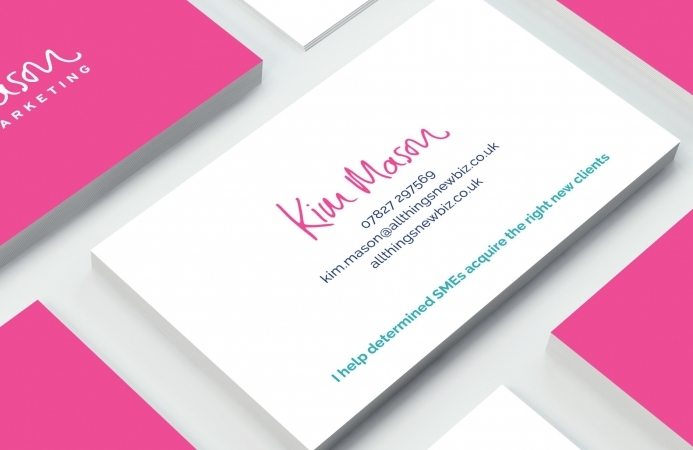 Kim Mason (Winchester) - Business Cards (Front)