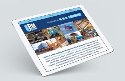 P&M Packing (Southampton), Website Design