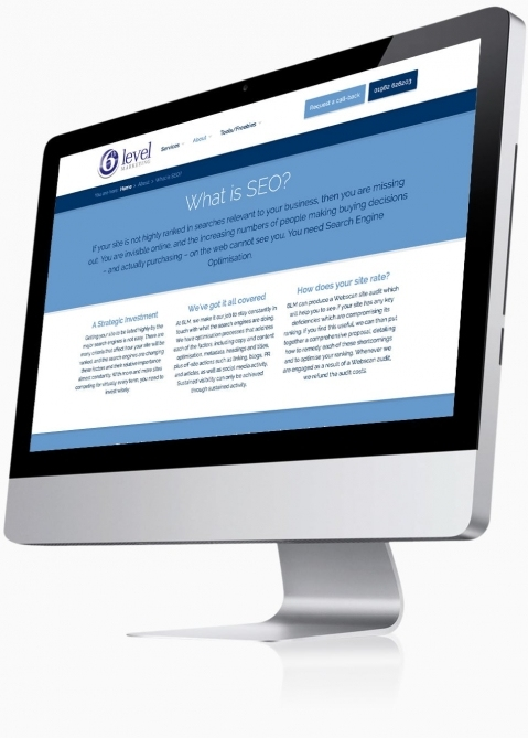 Sixth Level Marketing (Winchester) - Website Design (What is SEO)