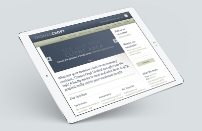 Thomas Croft (Southampton), Website Design