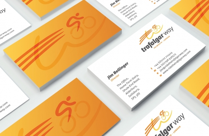 Ride the Trafalgar Way (Salisbury) - Business Cards