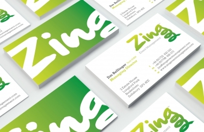 Zing Event Management (Salisbury), Business Cards