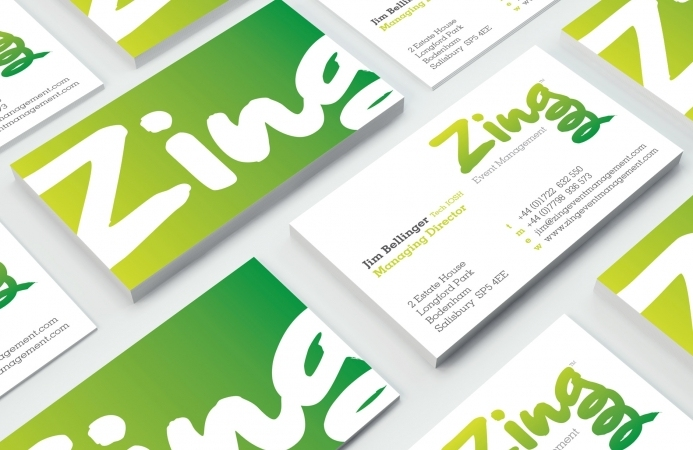 Zing Event Management (Salisbury) - Business Cards
