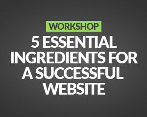 Workshop: 5 Essential Ingredients for a Successful Website