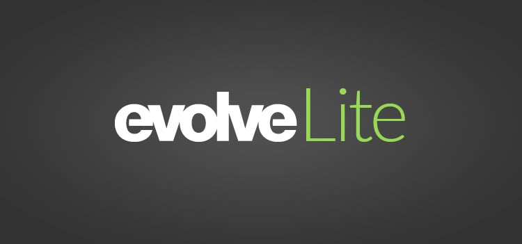 Introducting Evolve Lite Websites