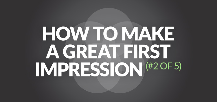 How to makes sure your company's website makes great first impression