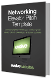 Download our free Networking Elevator Pitch Template
