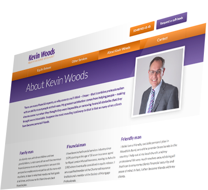 Kevin Woods (Southampton) Website - About