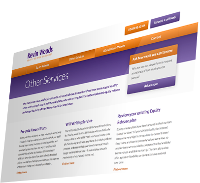 Kevin Woods (Southampton) Website - Other Services
