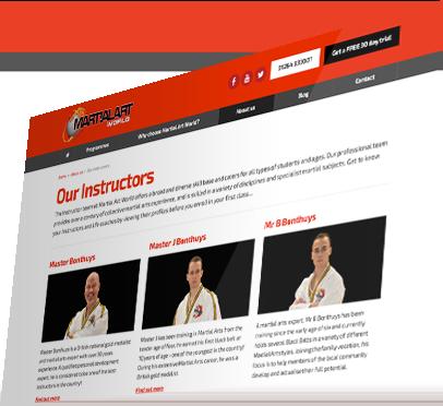 Martial Art World (Andover) Website - Instructors