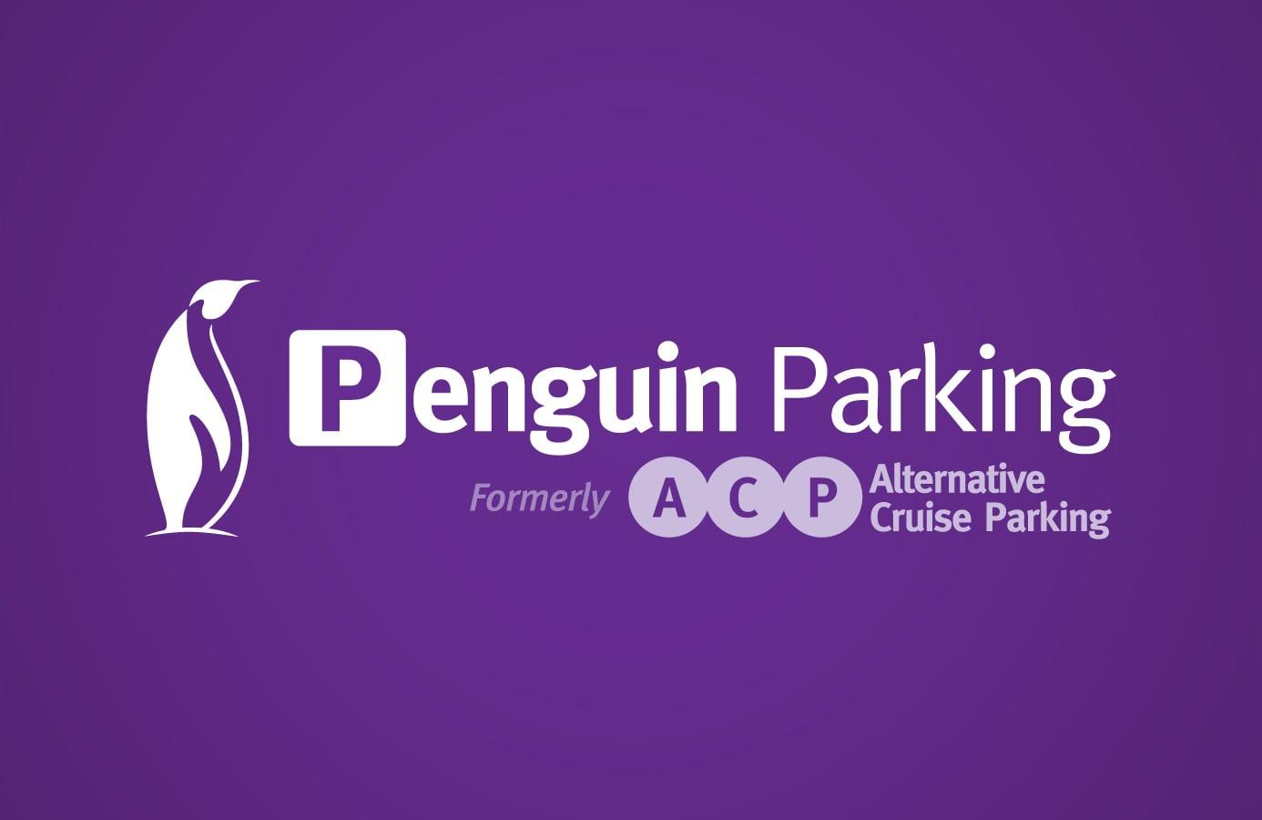 Penguin Cruise Parking Southampton Logo Design Evolve
