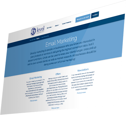 Sixth Level Marketing Website