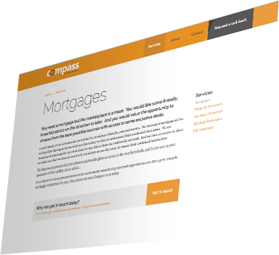 Compass Personal Finance Website