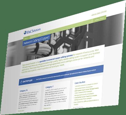 iDaC Solutions Website