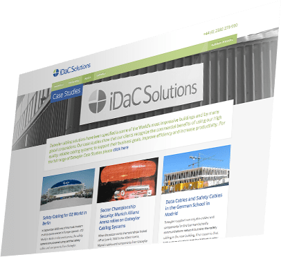 iDaC Solutions Website