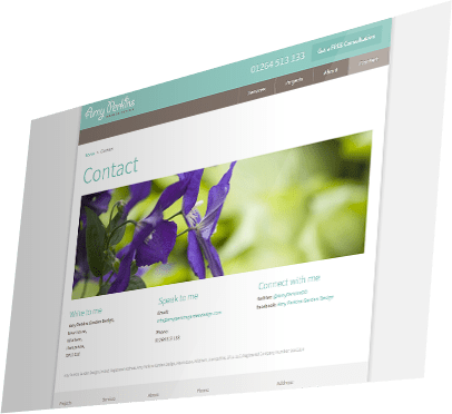 Amy Perkins Garden Design Website