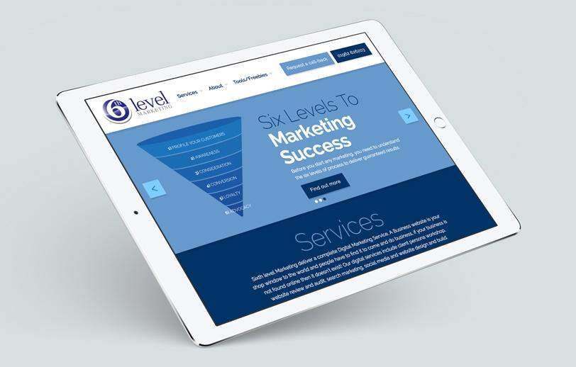 Sixth Level Marketing (Winchester, Website Design) / Evolve